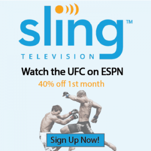 Watch UFC on ESPN with Sling
